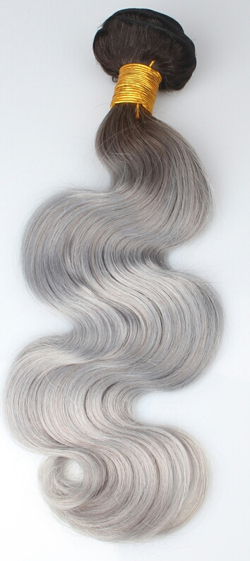 Colored Wefts Indian Remy Hair